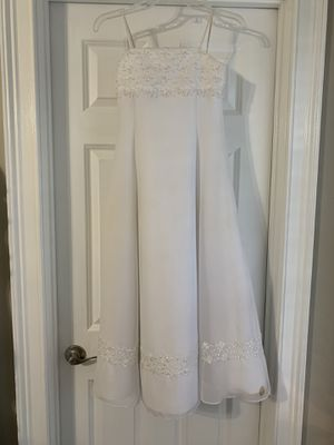 Flower Girl Dress in White for Sale in Eno Valley, NC