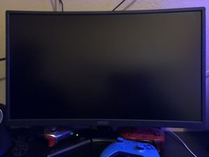 MSI Optix G24C Monitor for Sale in Compton, CA