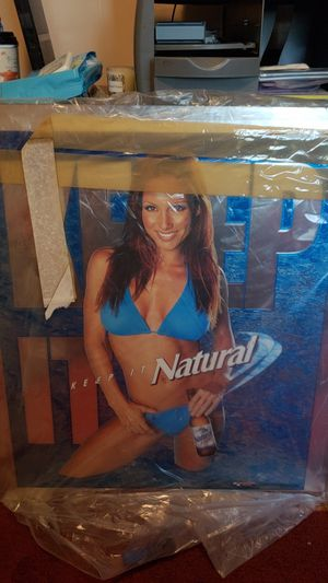 NATURAL BEER Mirror for Sale in Fresno, CA