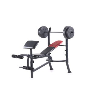 Weider Pro 265 Standard Bench with 80lbs for Sale in Jacksonville, FL