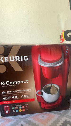 Keurig K compact Red color for Sale in Baldwin Park, CA