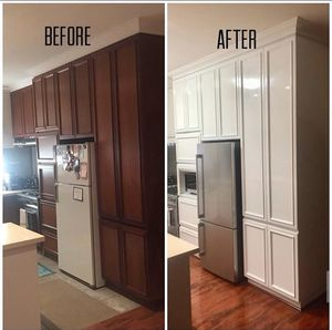 Kitchen cabinets refinishing( new doors ) for Sale in Riverview, FL