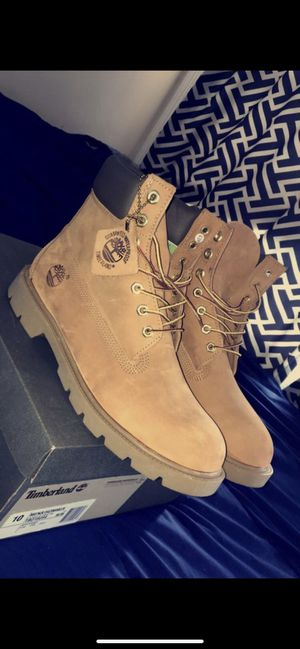 MENS TIMBERLANDS SZ 10 WORN2X 6 Inch Boots 2015 pair for Sale in Alexandria, VA