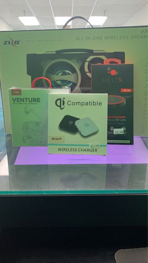 Get amazing deal on speaker, wireless chargers and headphones! When you switch with us for Sale in Miami, FL