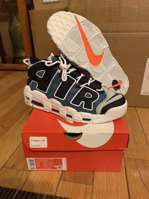 Nike Denim Uptempo Sz. 8.5 for Sale in West Springfield, VA