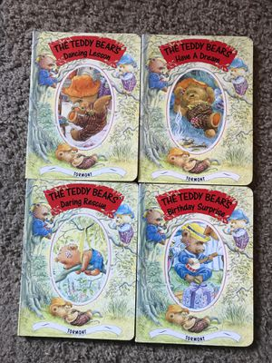 Teddy bears book set $10! for Sale in Clovis, CA