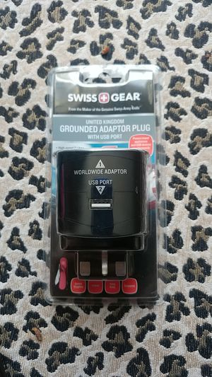 Grounded adaptor plug for Sale in Rancho Cucamonga, CA