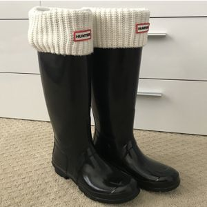 Women's Original Tall Gloss Rain Boots // Black // Size: 9 for Sale in Gaithersburg, MD