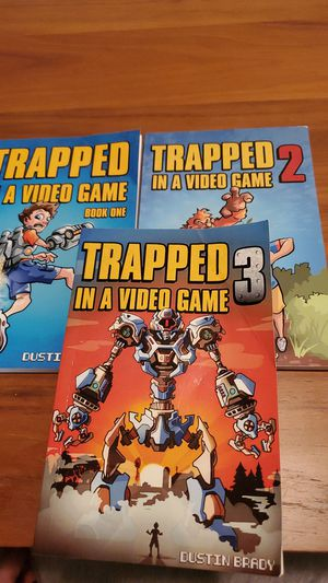 Trapped in a video game Book series for Sale in BETHEL, WA