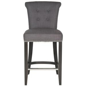 New Addo 25.7 in. Charcoal Cushioned Bar Stool☆Pick up only☆ for Sale in Phoenix, AZ