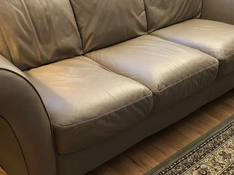 Leather Couch for Sale in Sutton,  MA