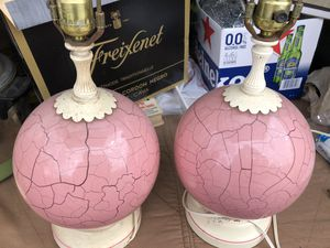 1950-1960 vintage lamps for Sale in Millbury, MA