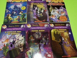 Geronimo Stilton book lot of 6 spooky books! for Sale in McDonough, GA