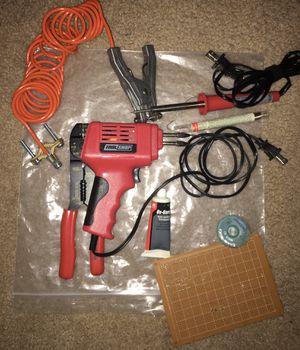 Soldering irons 30w stick - 100w solder gun for Sale in Kenosha, WI