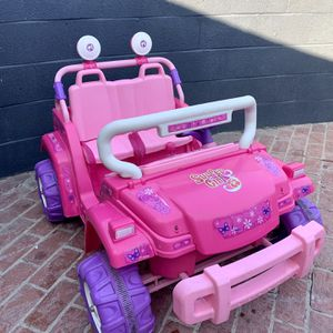 💕 BRAND NEW BATTERY! 12V Power Wheels Barbie Surfer Jeep 💕 for Sale in Long Beach, CA