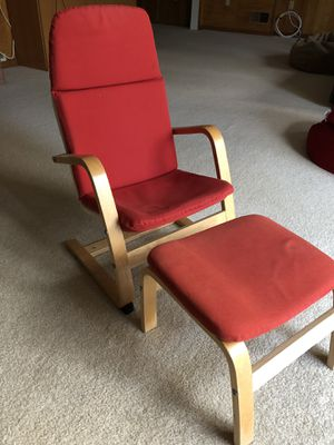 Kids Chair with Footstool for Sale in Bethesda, MD