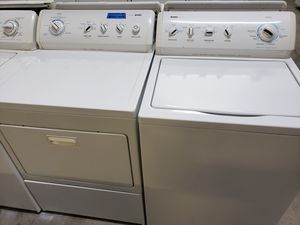 KENMORE 800 SERIES WASHER AND ELECTRIC DRYER SET for Sale in Modesto, CA