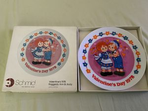 "THE SCHMID COLLECTIONS ""THE RAGGEDY ANN & ANDY PLATE IN ORIGINAL BOX #3 for Sale in Henderson, NV"