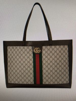 Authentic Gucci Ophidia Soft GG Supreme CanvasTote Bag for Sale in Las Vegas, NV