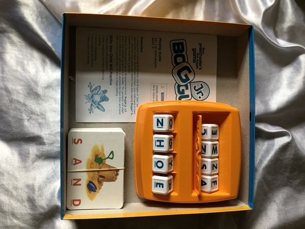 Boggle jr game board game puzzle ages 4 and up
