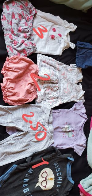 Baby girl 12 months clothes. for Sale in Inglewood, CA