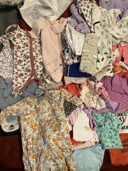 Babygirl Newborn-3 Months Clothing Lot for Sale in Troutdale,  OR