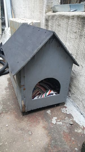 Small Solid Wood Dog Cat Animal House for Sale in Brooklyn, NY