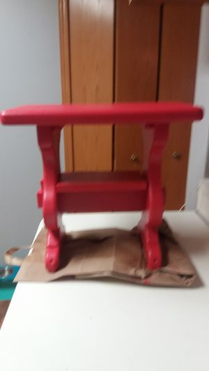 Little red table for Sale in Osseo, MN