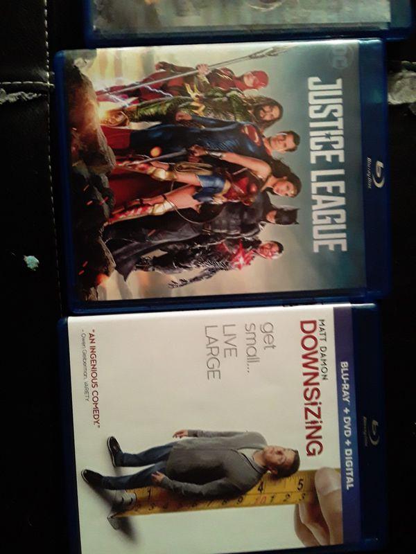 3 like new blue ray movies like new