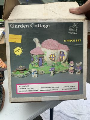 California creations garden cottage craft kit for Sale in Orange, CT