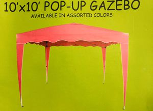 10x10 Pop-Up Gazebo - Pink only for Sale in Winston-Salem, NC