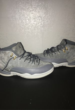 Air Jordan 12 Retro Dark Grey /Wolf Grey for Sale in District Heights, MD