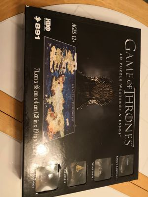 Puzzle 4D Game of Thrones for Sale in Dallas, TX