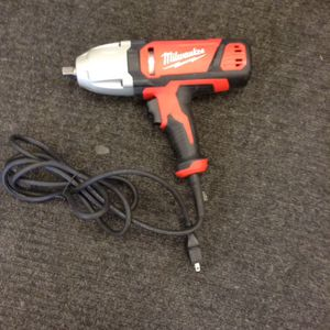 Milwaukee corded impact wrench for Sale in Denver, CO