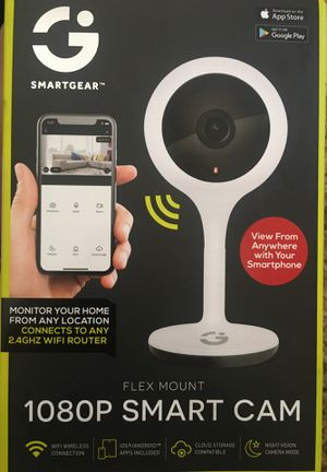 Smartgear 1080p smart cam for Sale in San Luis Obispo, CA