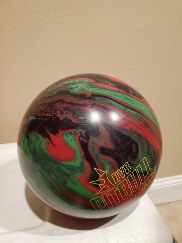 DV8 Pitbull Bark 15lb Bowling Ball