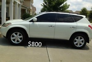 ✅Selling my 2003 Nissan Murano✅ for Sale in Ann Arbor, MI
