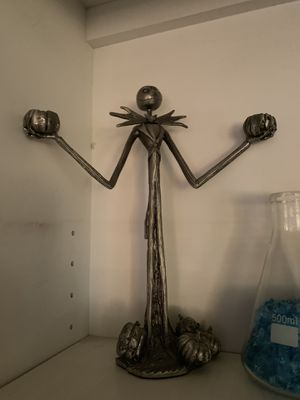 Nightmare before Christmas rare candelabra candle holder jack for Sale in San Diego, CA