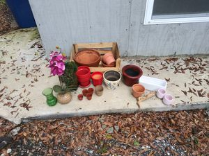 Assortment Pots for Plants for Sale in Tampa, FL