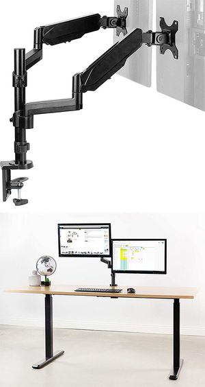 "Brand New $35 VIVO Dual Monitor Arm Mount 17-32"" Screens Height Adjustable Full Articulating Tilt Swivel for Sale in Downey, CA"