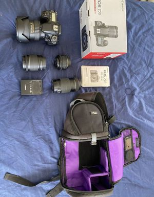 Canon70D for Sale in South San Francisco, CA