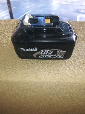 Makita battery 3.0 for Sale in Lincoln Acres, CA