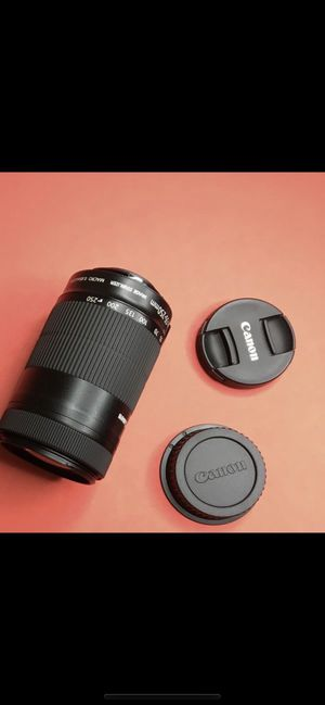 Canon lens for Sale in Alpharetta, GA