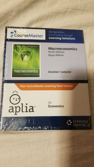 Aplia macroeconomics 9th edition boyes / melvin for Sale in Phoenix, AZ