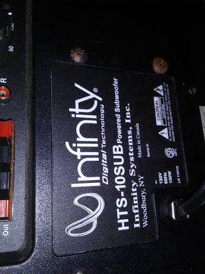 Infinity speaker for Sale in Shoreline, WA