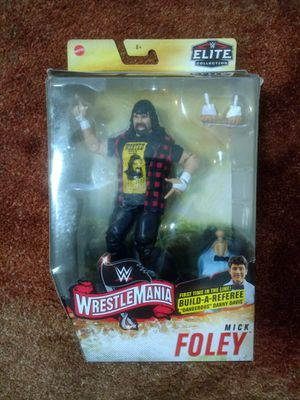 Wwe mick Foley figure/book for Sale in Lake Grove, NY