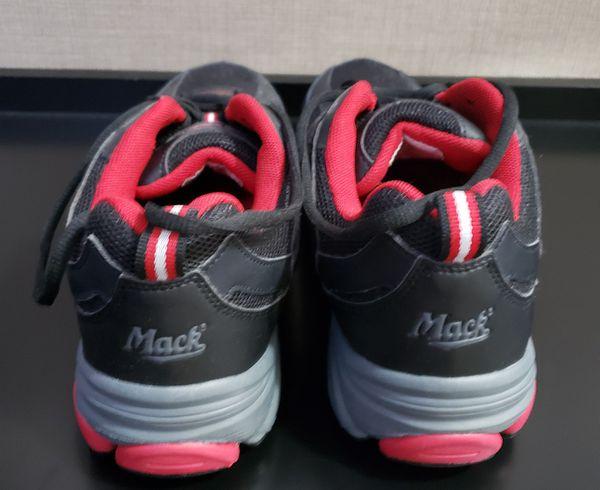 Mack Works Boots Men Sz 8 Safety Toe Shoes