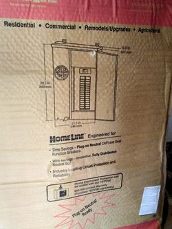 Homeline 200 Amp Solar Ready Square D Electrical Panel for Sale in Fresno,  CA