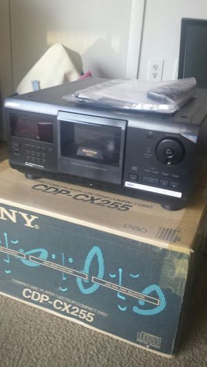 Sony CD Player CDP-CX255 200 Disc Changer Storage Audio Carousel Home Stereo for Sale in Fairfax, VA