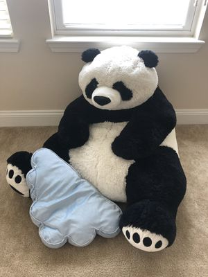 stuffed animal - giant panda for Sale in Fairfax, VA